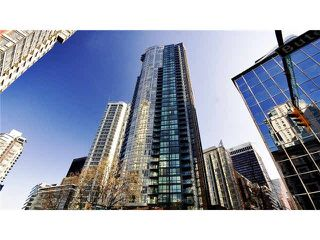 Main Photo: 1189 Melville Street in Vancouver: Coal Harbour Condo for rent (Downtown Vancouver)