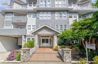"Photo 1: 406 1630 154 Street in Surrey: King George Corridor Condo for sale in ""Carton Court"" (South Surrey White Rock)  : MLS®# R2398777"