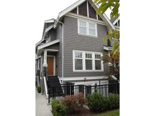 "Photo 1: 166 W 14TH AV in Vancouver: Mount Pleasant VW Townhouse for sale in ""Cambie Village"" (Vancouver West)"