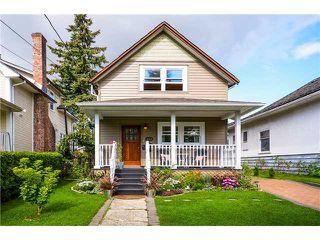 Photo 1: 213 5TH AV in New Westminster: Queens Park House for sale : MLS®# V1027883