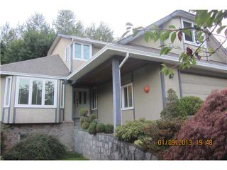 Photo 1: 2517 TEMPE KNOLL DR in North Vancouver: Tempe House for sale : MLS®# V1029539