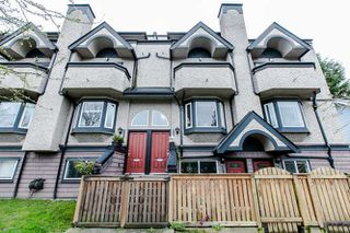 Photo 1: 2308 VINE STREET in Vancouver: Kitsilano Townhouse  (Vancouver West)  : MLS®# R2039868