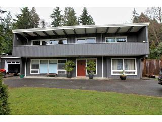 Photo 1: 3977 SUNSET Boulevard in North Vancouver: Capilano Highlands House for sale : MLS®# V952217