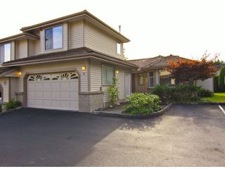 "Photo 1: 4 11438 BEST Street in Maple Ridge: Southwest Maple Ridge Townhouse for sale in ""FAIRWAY ESTATES"" : MLS®# V1025313"