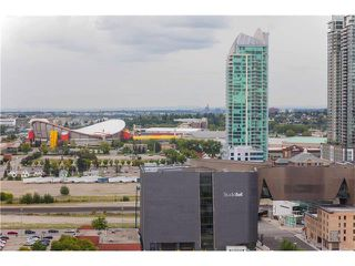 Photo 10: #1906 510 6 AV SE in Calgary: Downtown East Village Condo for sale : MLS®# C4077893