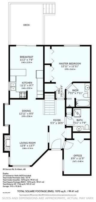 Photo 36: 27 85 GERVAIS Road: St. Albert House Half Duplex for sale : MLS®# E4200037
