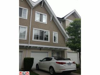 """Photo 1: 59 20560 66TH Avenue in Langley: Willoughby Heights Townhouse for sale in """"AMBERLEIGH"""" : MLS®# F1216794"""