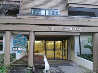Photo 2: 206 7411 MINORU BOULEVARD in Richmond: Brighouse South Condo for sale : MLS®# R2039283