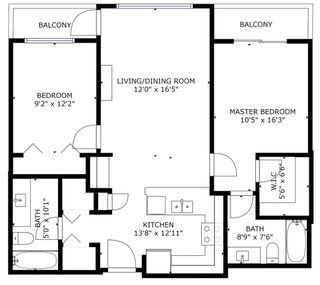 "Photo 39: 413 7511 120 Street in Delta: Scottsdale Condo for sale in ""ATRIA"" (N. Delta)  : MLS®# R2499482"
