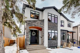 Photo 1: 1615 41 Street SW in Calgary: Rosscarrock Semi Detached for sale : MLS®# A1058448