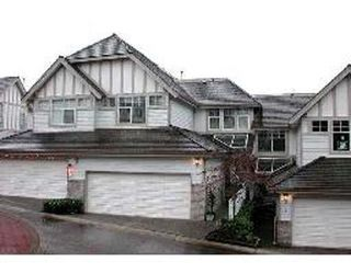 Photo 1: 7 - 1 ASPENWOOD DR in Port Moody: House for sale (Canada)  : MLS®# V598507