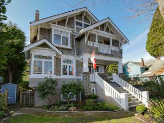 Photo 1: 1835 COLLINGWOOD STREET in Vancouver: Kitsilano House for sale (Vancouver West)  : MLS®# R2039694