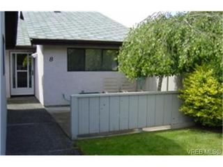 Photo 1: 8 1184 Clarke Rd in BRENTWOOD BAY: CS Brentwood Bay Row/Townhouse for sale (Central Saanich)  : MLS®# 341518