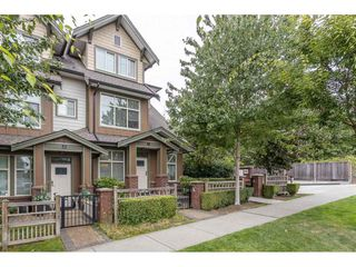 "Photo 1: 106 6655 192 Street in Surrey: Clayton Townhouse for sale in ""ONE 92"" (Cloverdale)  : MLS®# R2492692"