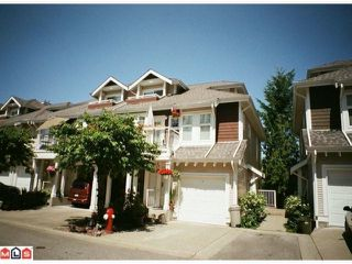 "Main Photo: 7 9036 208TH Street in Langley: Walnut Grove Townhouse for sale in ""HUNTERS GLEN"" : MLS®# F1220851"