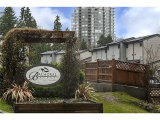 Photo 2: 226 BALMORAL PL in Port Moody: North Shore Pt Moody Townhouse for sale : MLS®# V1010523