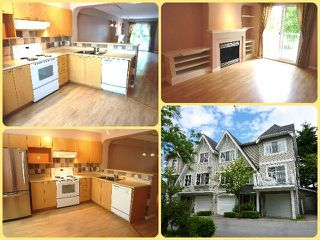 """Photo 1: 3 12778 66TH Avenue in Surrey: West Newton Townhouse for sale in """"Hathaway Village"""" : MLS®# F1314285"""