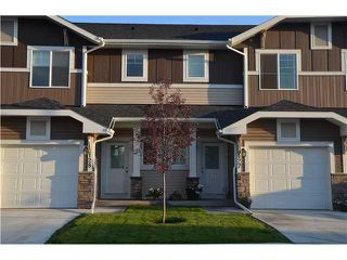 Photo 1: 128 300 MARINA Drive W in : Chestermere Townhouse for sale : MLS®# C3581362