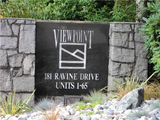 "Photo 20: # 40 181 RAVINE DR in Port Moody: Heritage Mountain Townhouse for sale in ""THE VIEWPOINT"" : MLS®# V1024691"