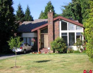 "Photo 1: 1740 148A ST in White Rock: Sunnyside Park Surrey House for sale in ""SOUTHMERE"" (South Surrey White Rock)  : MLS®# F2614034"