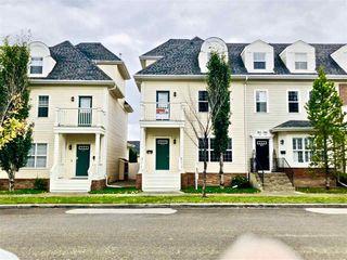 Photo 1: 4469 MCCRAE Avenue in Edmonton: Zone 27 Townhouse for sale : MLS®# E4178542