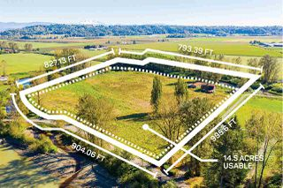 Main Photo: 27612 RIVER Road in Abbotsford: Bradner Land for sale : MLS®# R2502540