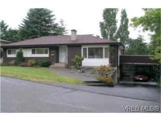 Photo 1:  in VICTORIA: SE Quadra Single Family Detached for sale (Saanich East)  : MLS®# 399036