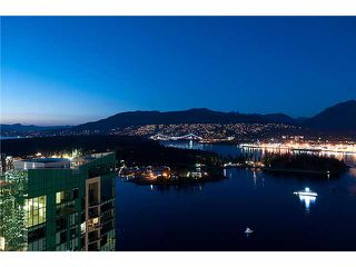 """Photo 2: 3803 1077 W CORDOVA Street in Vancouver: Coal Harbour Condo for sale in """"SHAW TOWER -  COAL HARBOUR"""" (Vancouver West)  : MLS®# V1006517"""