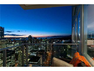 """Photo 4: 3803 1077 W CORDOVA Street in Vancouver: Coal Harbour Condo for sale in """"SHAW TOWER -  COAL HARBOUR"""" (Vancouver West)  : MLS®# V1006517"""