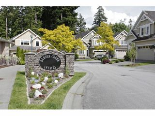 """Main Photo: 21 3502 150A Street in Surrey: Morgan Creek Townhouse for sale in """"Barber Creek Estates"""" (South Surrey White Rock)  : MLS®# F1312818"""