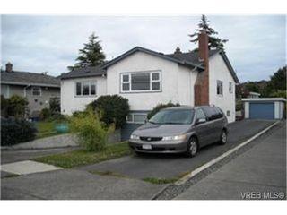 Photo 1:  in VICTORIA: OB Henderson House for sale (Oak Bay)  : MLS®# 471534