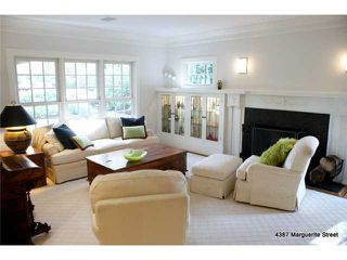 Photo 2: 4387 MARGUERITE ST in Vancouver: Shaughnessy House for sale (Vancouver West)  : MLS®# V1094390