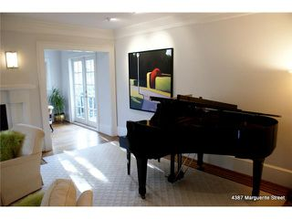 Photo 3: 4387 MARGUERITE ST in Vancouver: Shaughnessy House for sale (Vancouver West)  : MLS®# V1094390
