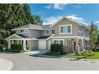 Photo 1: 12161 237 in Maple Ridge: Townhouse for sale : MLS®#  V1096463