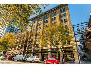 Photo 1: # 603 233 ABBOTT ST in Vancouver: Downtown VW Condo for sale (Vancouver West)  : MLS®# V1116796
