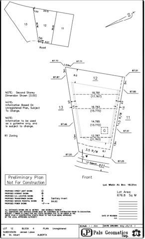 Photo 2: 25 JACOBS CLOSE in PMSt. Albert: Rural Land/Vacant Lot for sale (St. Albert)  : MLS®# E4122632