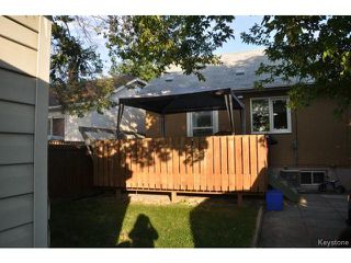 Photo 19: 1660 Arlington Street in WINNIPEG: North End Residential for sale (North West Winnipeg)  : MLS®# 1318907