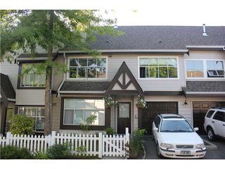 "Photo 1: 77 12099 237TH Street in Maple Ridge: East Central Townhouse for sale in ""GABROILA"" : MLS®# V1024539"
