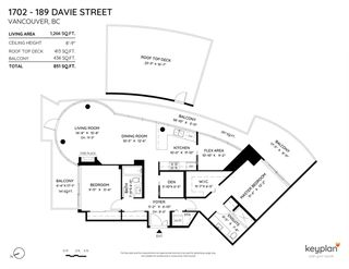 Photo 38: 1702 189 DAVIE STREET in Vancouver: Yaletown Condo for sale (Vancouver West)  : MLS®# R2504054