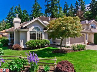 "Photo 1: 15026 SEMIAHMOO Place in Surrey: Sunnyside Park Surrey House for sale in ""Semiahmoo Wynd"" (South Surrey White Rock)  : MLS®# F1216537"