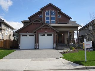 "Photo 1: 1956 MERLOT Boulevard in Abbotsford: House for sale in ""Pepin Brook"" : MLS®# F1308588"