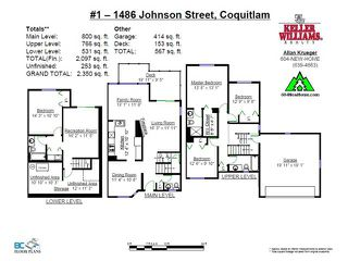 """Photo 19: # 1 1486 JOHNSON ST in Coquitlam: Westwood Plateau Townhouse for sale in """"STONEY CREEK"""" : MLS®# V1008435"""