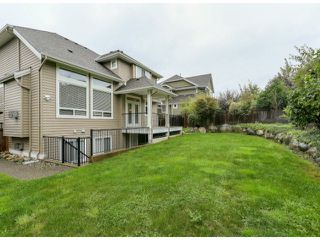 "Photo 20: 5888 163B Street in Surrey: Cloverdale BC House for sale in ""The Highlands"" (Cloverdale)  : MLS®# F1321640"