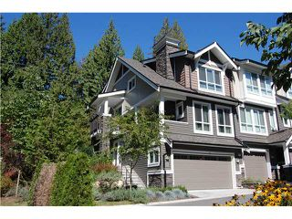 Photo 1: 117 1480 Southview Street in Coquitlam: Burke Mountain Townhouse for sale : MLS®# V1085995