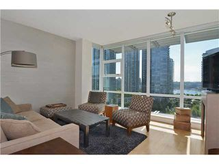 Photo 2: # 1206 638 BEACH CR in Vancouver: Yaletown Condo for sale (Vancouver West)  : MLS®# V1125146