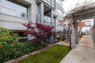 "Main Photo: 104 3161 W 4TH Avenue in Vancouver: Kitsilano Townhouse for sale in ""BRIDGEWATER"" (Vancouver West)  : MLS®# R2415783"