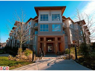 Photo 1: 122 15918 26TH Avenue in Surrey: Grandview Surrey Condo for sale (South Surrey White Rock)  : MLS®# F1203302