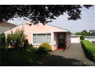 Photo 1: 1522 Clawthorpe Avenue in VICTORIA: Vi Oaklands Single Family Detached for sale (Victoria)  : MLS®# 201039