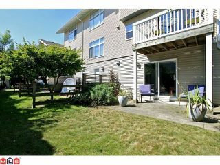 "Photo 10: 5 7179 201ST Street in Langley: Willoughby Heights Townhouse for sale in ""THE DENIM"" : MLS®# F1219609"