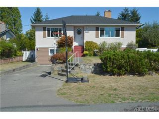 Photo 1: 850 Ferrie Road in VICTORIA: SW Royal Oak Single Family Detached for sale (Saanich West)  : MLS®# 342157